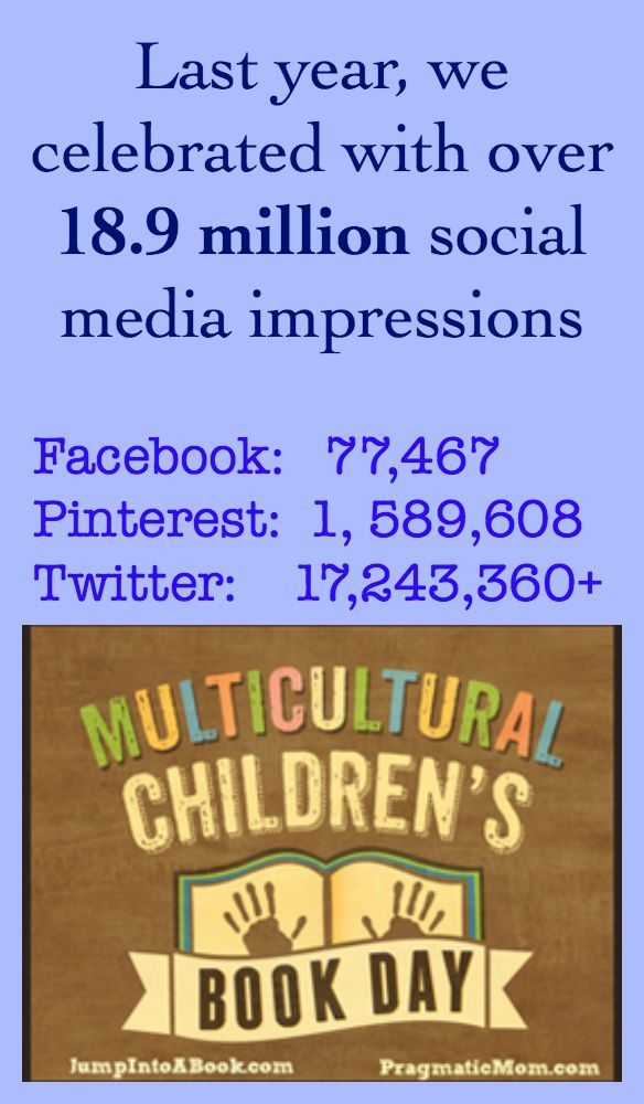 Multicultural Children's Book Day Social Media Reach