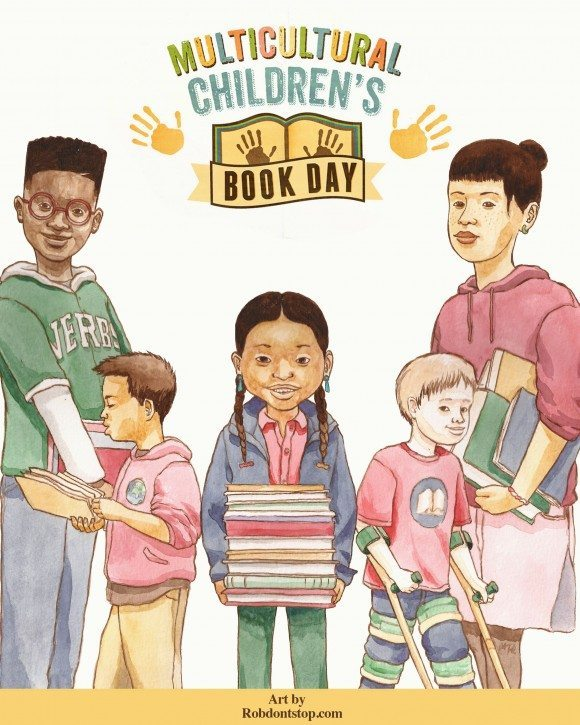 Robert Liu Trujillo Multicultural Children's Book Day Poster 2016