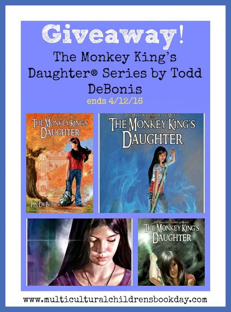 The Monkey King's Daughter giveaway