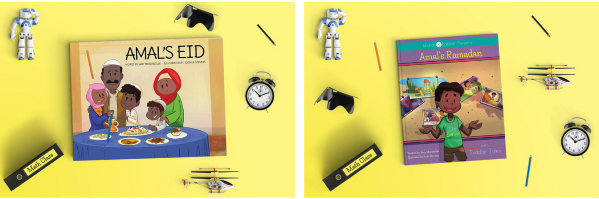 #30DaysRamadan Kidlit Book Giveaway: Amal's Ramadan and Amal's Eid