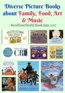 Diverse Picture Books about Family, Food, Art & Music
