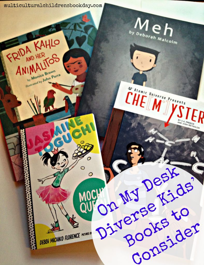 On My Desk | New Diverse Kids' Books to Consider