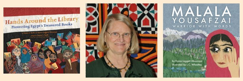 Author Karen Leggett
