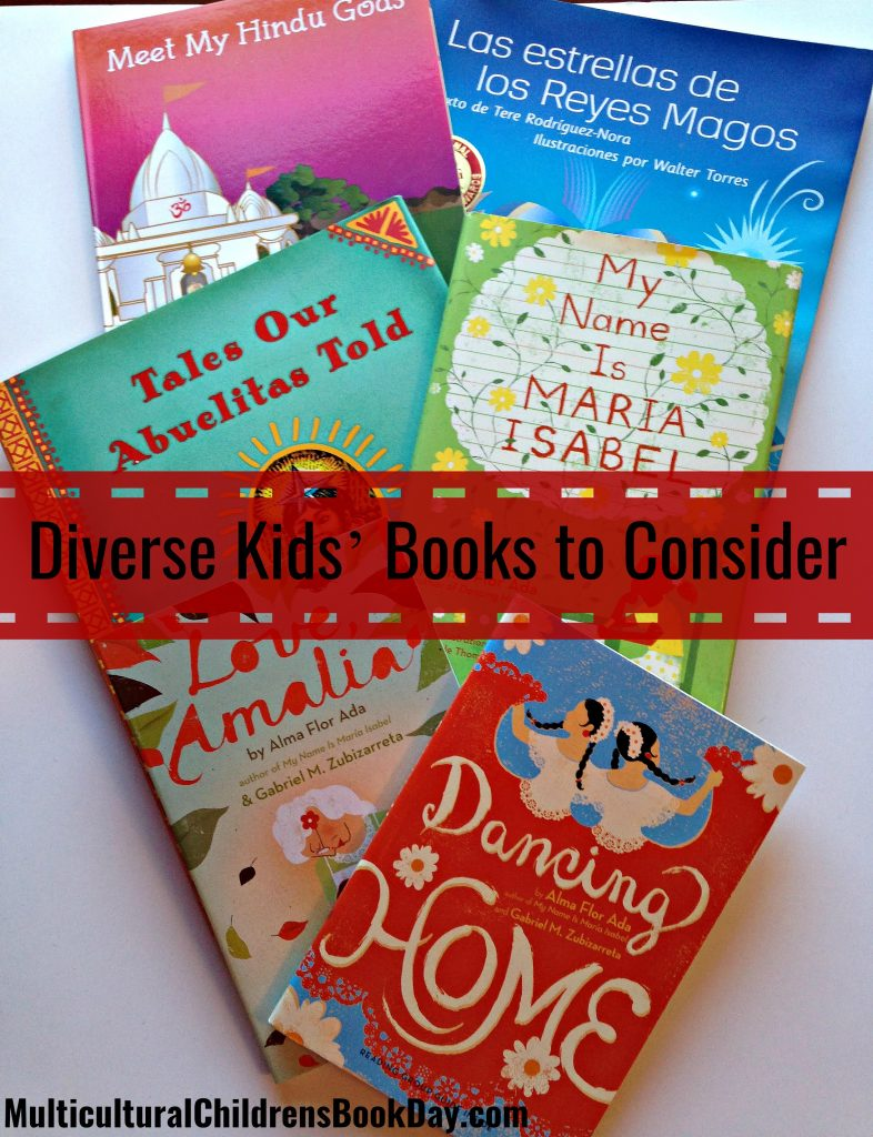 New Diverse Kids' Books to Consider