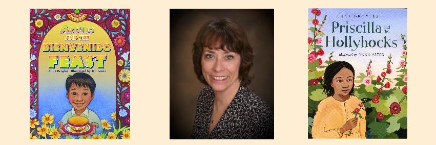 Author Anne Broyles