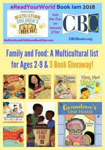 Family and Food: A Multicultural list for Ages 2-9 & 3 Book Giveaway!