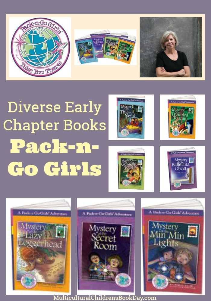 Diverse Early Chapter Books for Girls