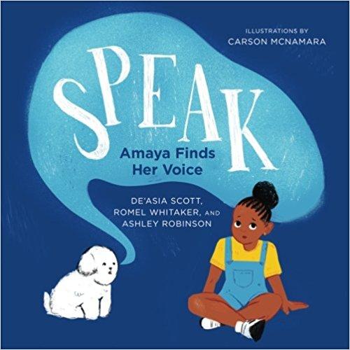 SPEAK Amaya Finds her Voice