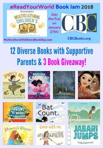 12 Diverse Picture Books Featuring Supportive Parents & 3 Book Giveaway!