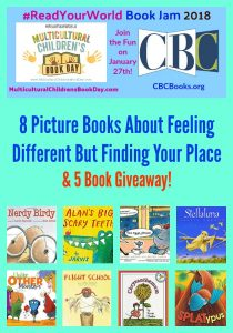 8 Picture Books About Feeling Different But Finding Your Place  & 5 Book Giveaway!