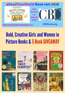 Bold, Creative Girls and Women in Picture Books & 5 Book GIVEAWAY