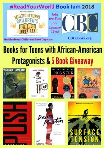 Books for Teens Featuring African-American Protagonists & 5 Book Giveaway