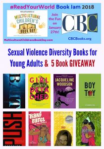 Sexual Violence Diversity Books for Young Adults & 5 Book GIVEAWAY