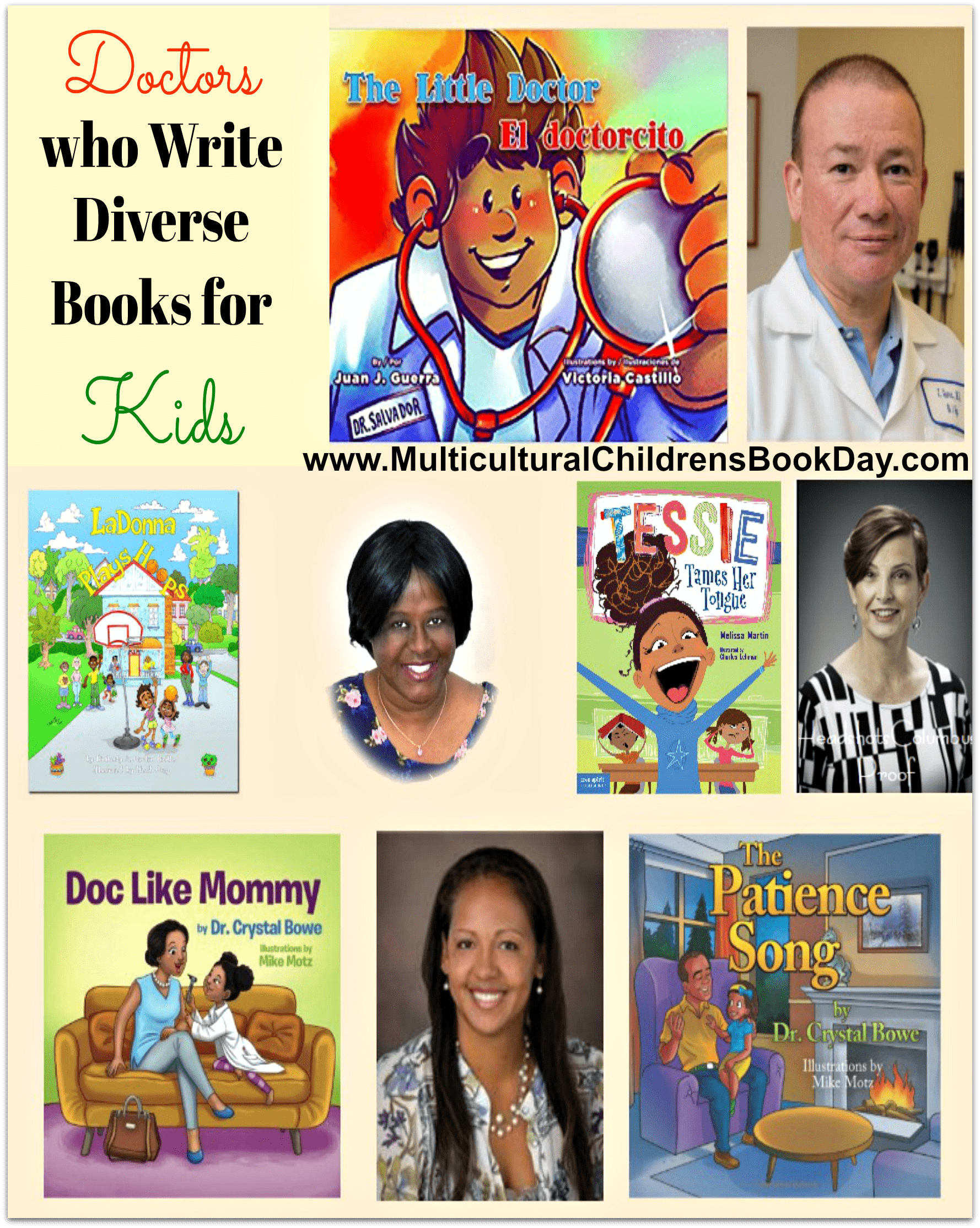 Doctors who Write Diverse Books for Kids