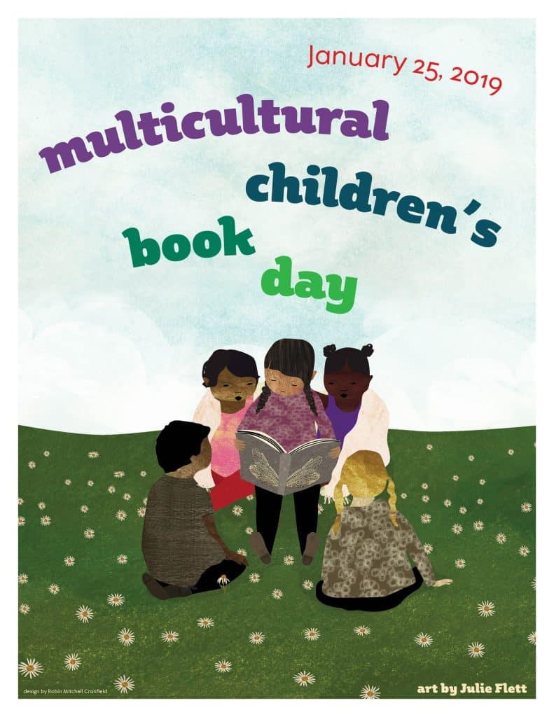 2019 Multicultural Children's Book Day Poster by Julie Flett