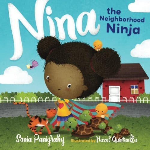 Nina the Neighborhood Ninja (Spanish version available: Nina la Ninja del Vecindario).