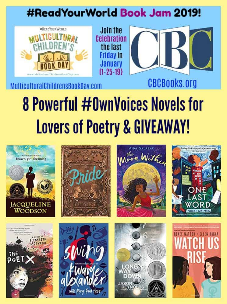 8 Powerful #OwnVoices Novels for Lovers of Poetry & GIVEAWAY!