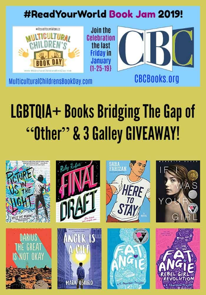 "LGBTQIA+ Books Bridging The Gap of ""Other"" & 3 Galley GIVEAWAY!"