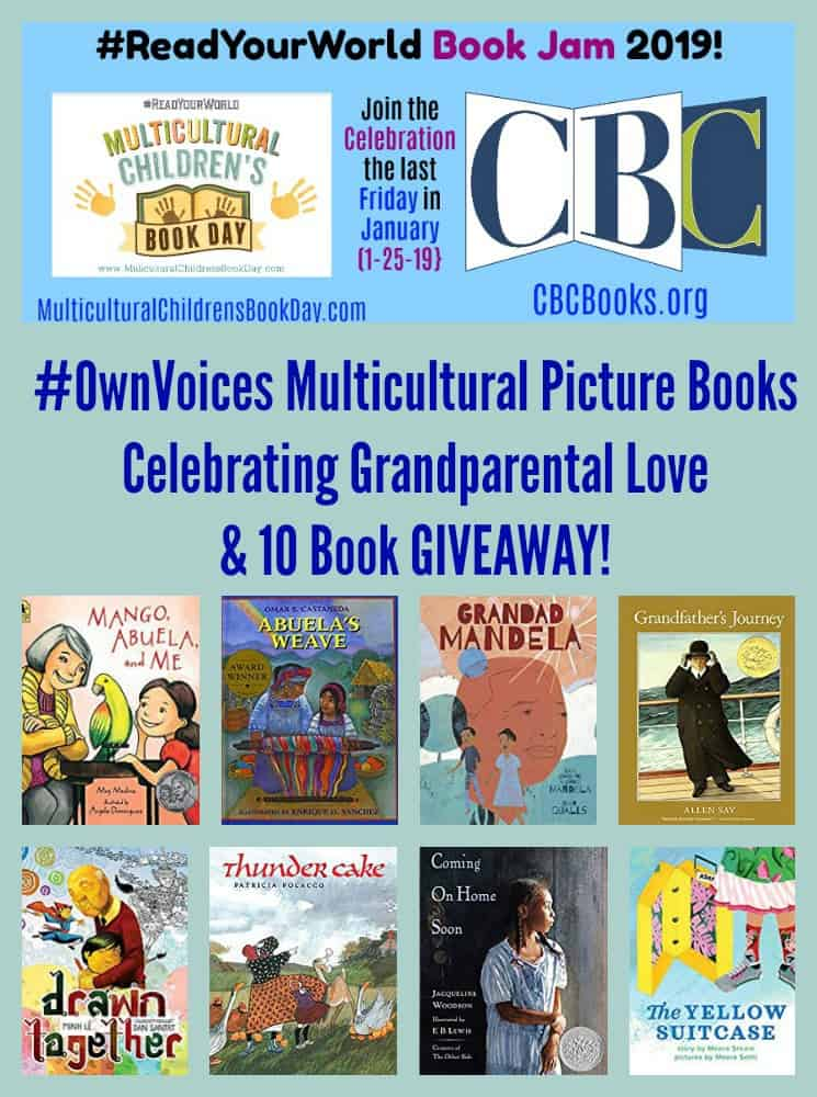#OwnVoices Multicultural Picture Books Celebrating Grandparental Love & 10 Book GIVEAWAY!