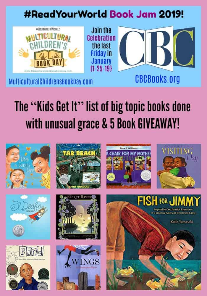 "The ""Kids Get It"" list of big topic books done with unusual grace & 5 Book GIVEAWAY!"