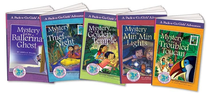 Pack and Go Girls Giveaway Multicultural Children's Book Day