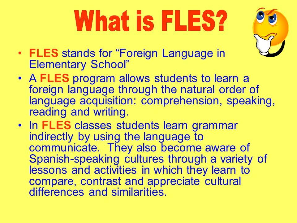 FLES programs