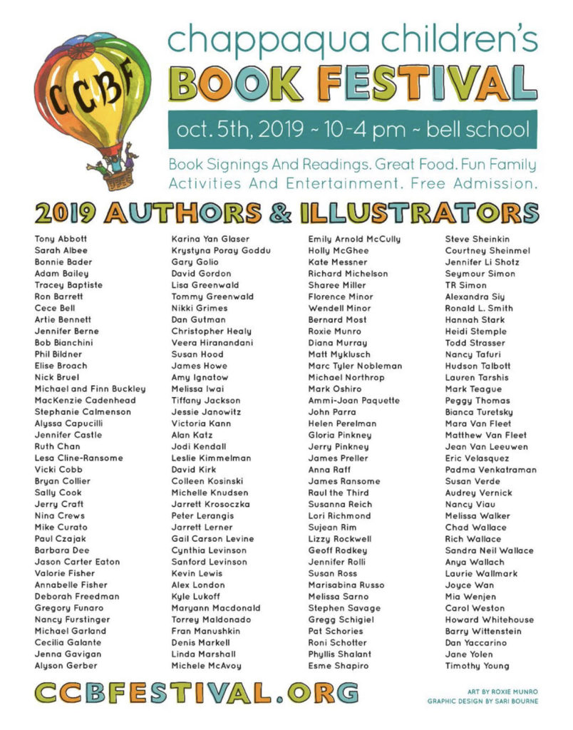 Chappaqua Children's Book Festival