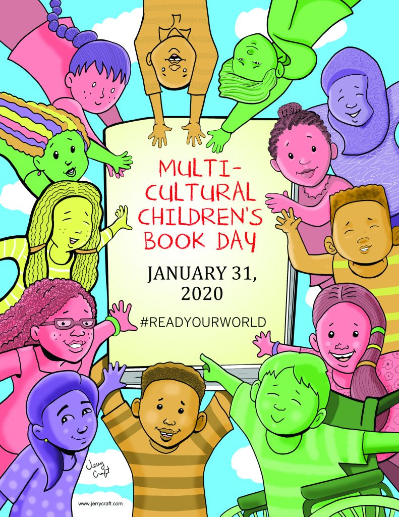 Multicultural Children's Book Day Official 2020 Poster