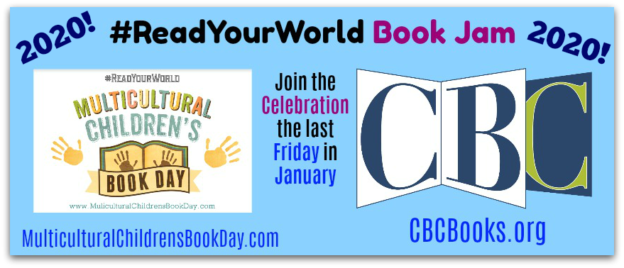 #ReadYourWorld Book Jam 2020 Banner