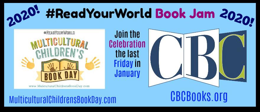 #ReadYourWorld Book Jam 2020 Banner