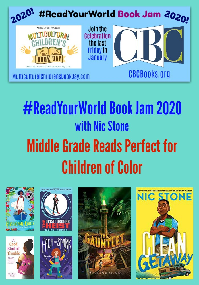 Middle Grade Reads Perfect for Children of Color