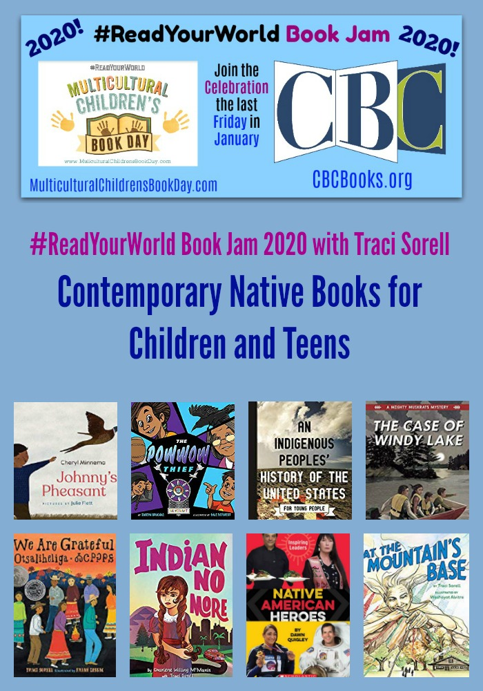 Contemporary Native Books for Children and Teens