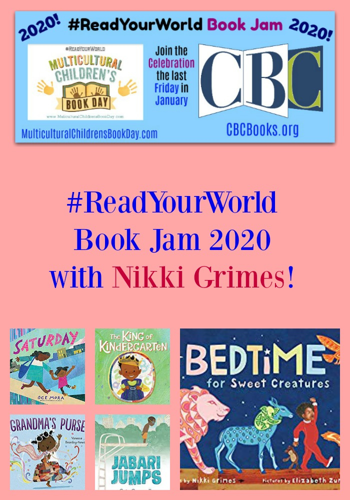 #ReadYourWorld Book Jam 2020 with Nikki Grimes!