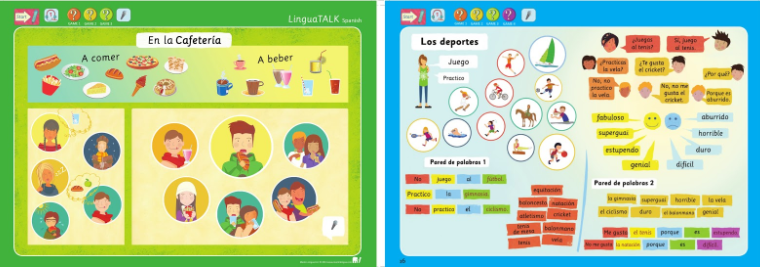 Interactive Spanish Learning Set