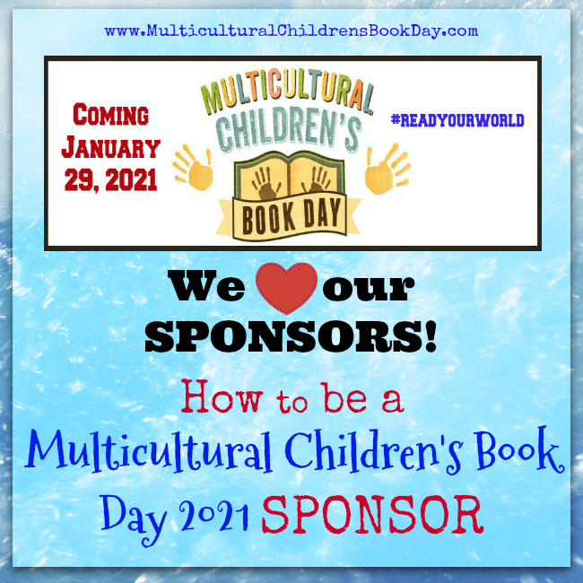 How to be a Multicultural Children's Book Day SPONSOR