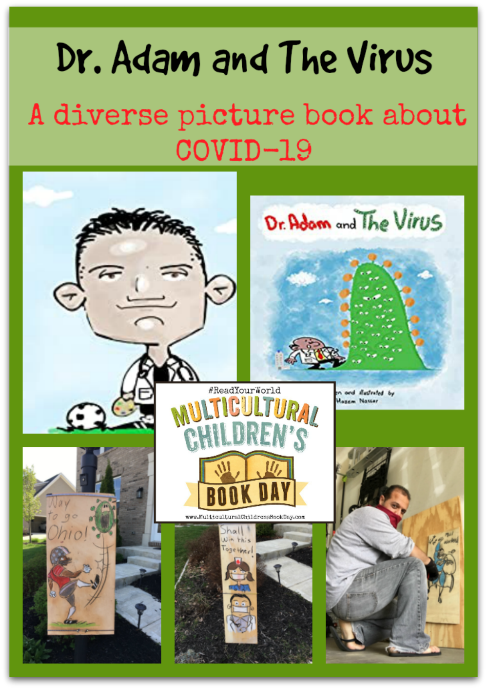 A diverse picture book about COVID19