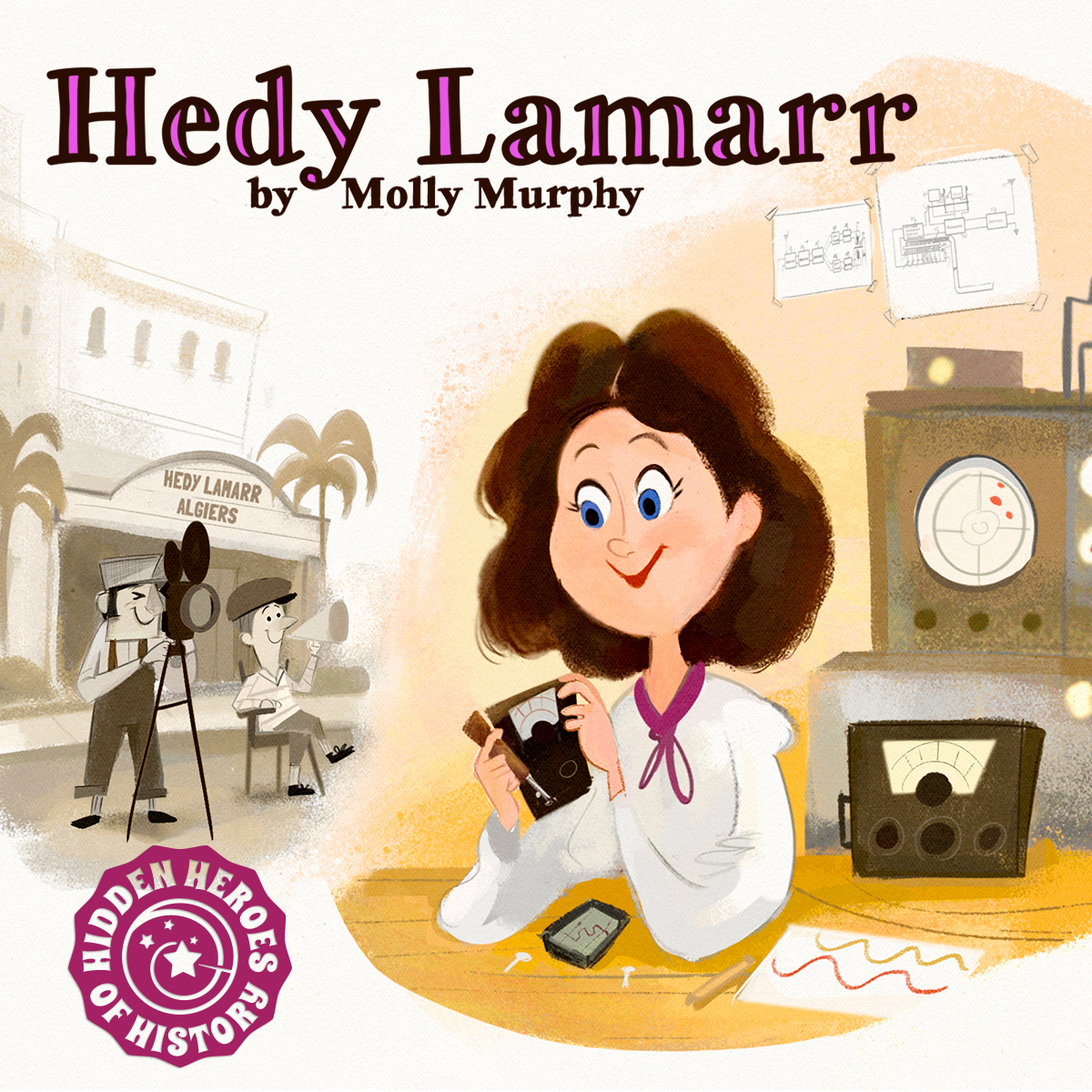 Dorktales Podcast Hedy Lamarr
