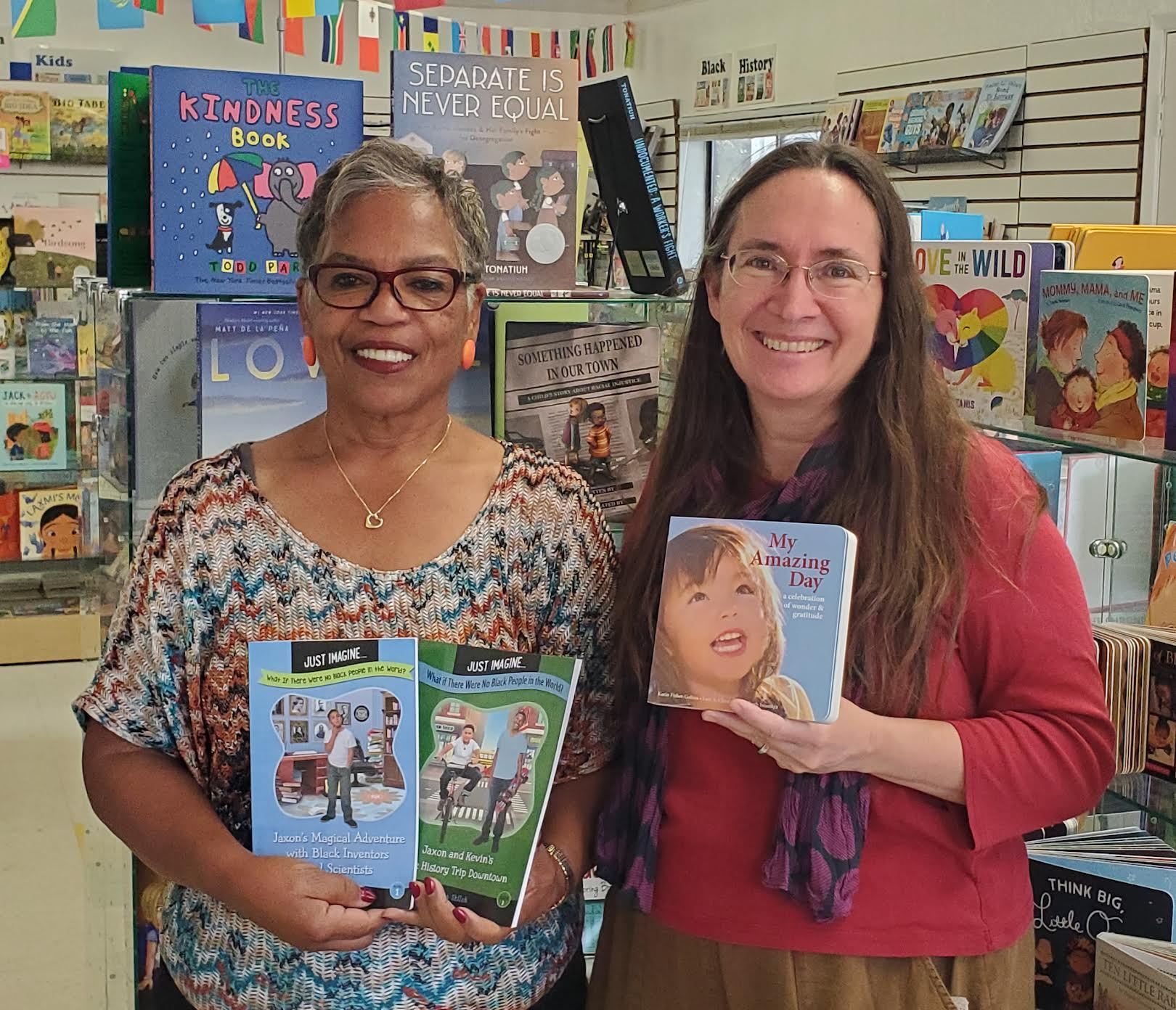 Multicultural Children's Bookstore and Gifts Karin Fisher-Golton Tamara Shiloh