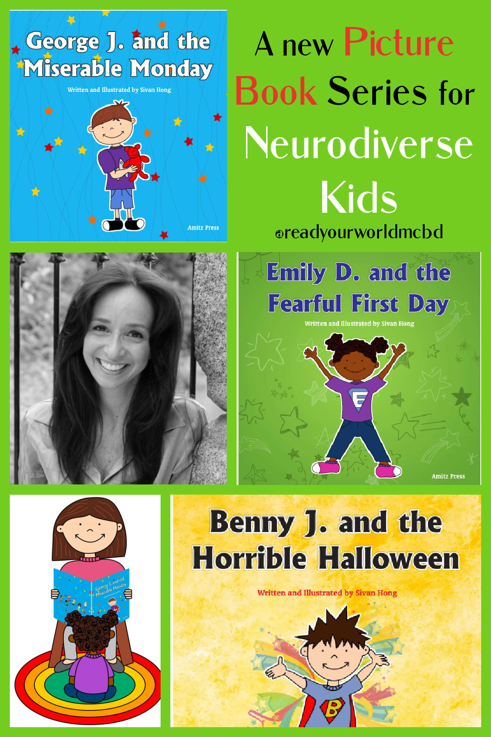 A New Picture Book Series for Neurodiverse Kids